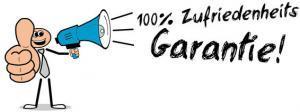 100% Zufriedenheits Garantie!